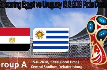 Live Streaming Egypt vs Uruguay 16.6.2018 Piala Dunia FIFA