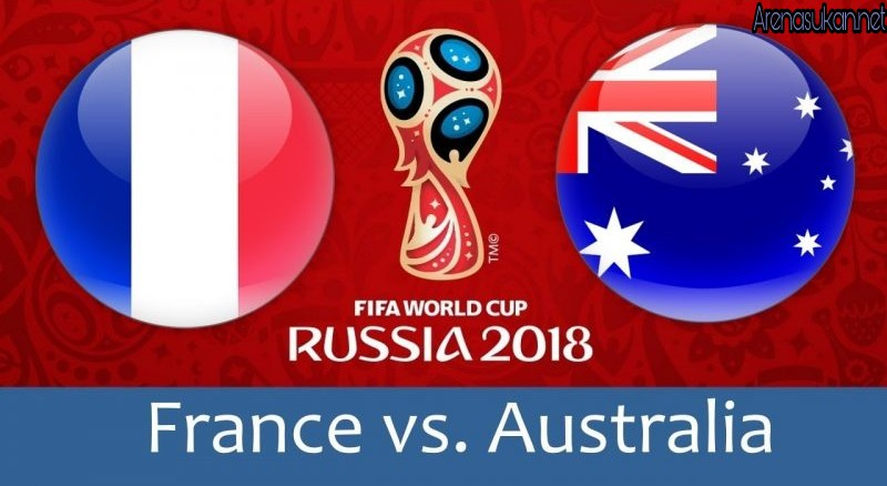 Live Streaming France vs Australia 16.6.2018 Piala Dunia FIFA