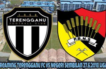 Live Streaming Terengganu FC vs Negeri Sembilan 27.6.2018 Liga Super