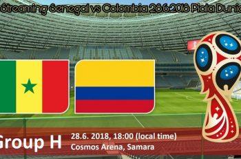 Live Streaming Senegal vs Colombia 28.6.2018 Piala Dunia FIFA