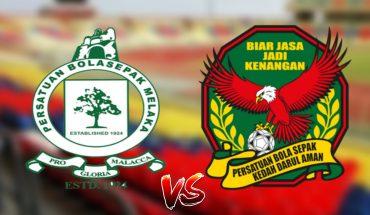 Live Streaming Melaka United vs Kedah 21.4.2019 Liga Super