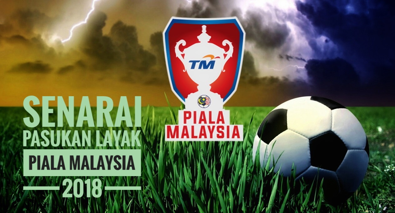 Senarai Pasukan Layak Piala Malaysia 2018