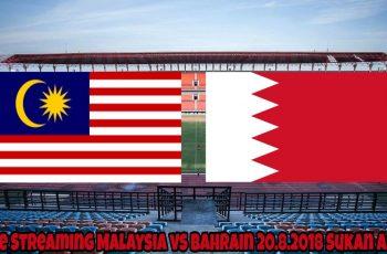 Live Streaming Malaysia vs Bahrain 20.8.2018 Sukan Asia