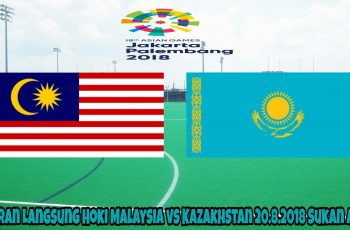Siaran Langsung Hoki Malaysia vs Kazakhstan 20.8.2018 Sukan Asia. Saksikan perlawanan pertama acara hoki antara pasukan Malaysia menentang Kazakhstan dalam temasya Sukan Asia 2018. Perlawanan ini dijangka akan berlangsung pada hari Isnin, 20 Ogos 2018