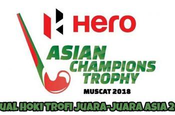 Jadual Hoki Trofi Juara-Juara Asia 2018
