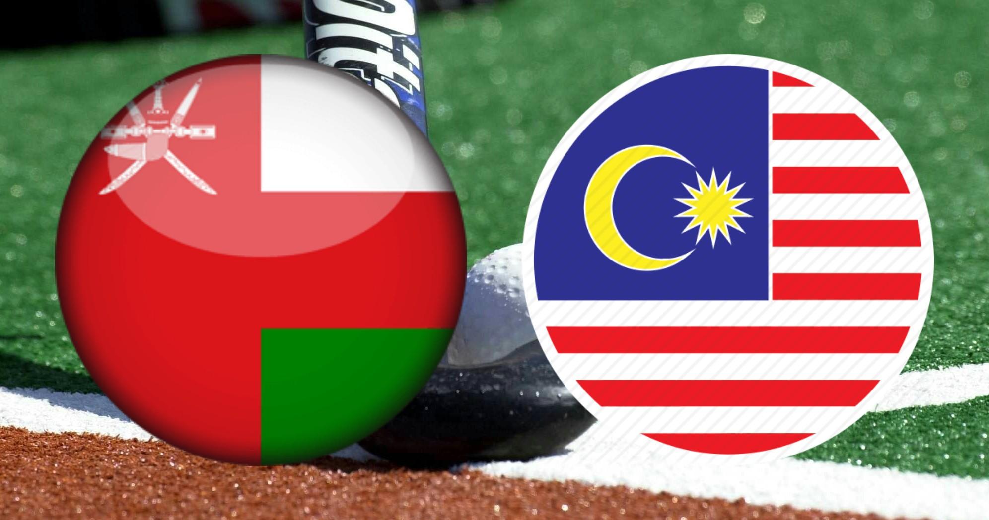 Live Streaming Oman vs Malaysia 20.10.2018 Hoki Trofi Juara-Juara Asia