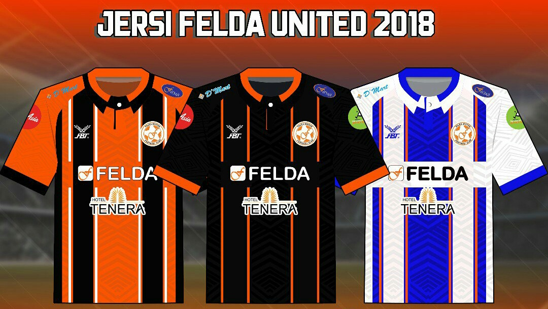 Rekaan dan Harga Jersi Felda United 2019 Liga Super