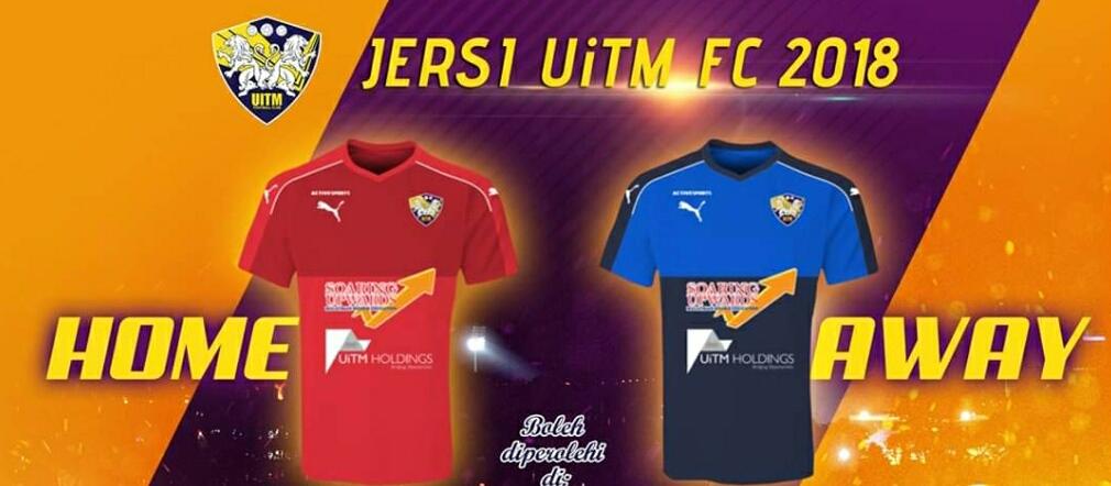 Rekaan dan Harga Jersi UiTM FC 2019 Liga Perdana