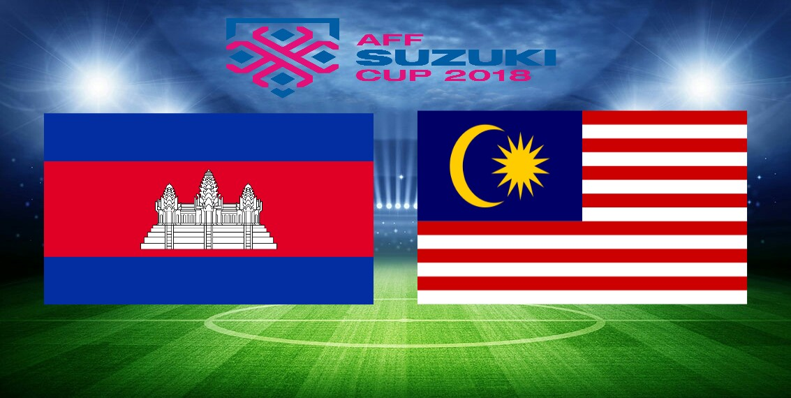 Siaran Langsung Kemboja vs Malaysia AFF Suzuki Cup 2018