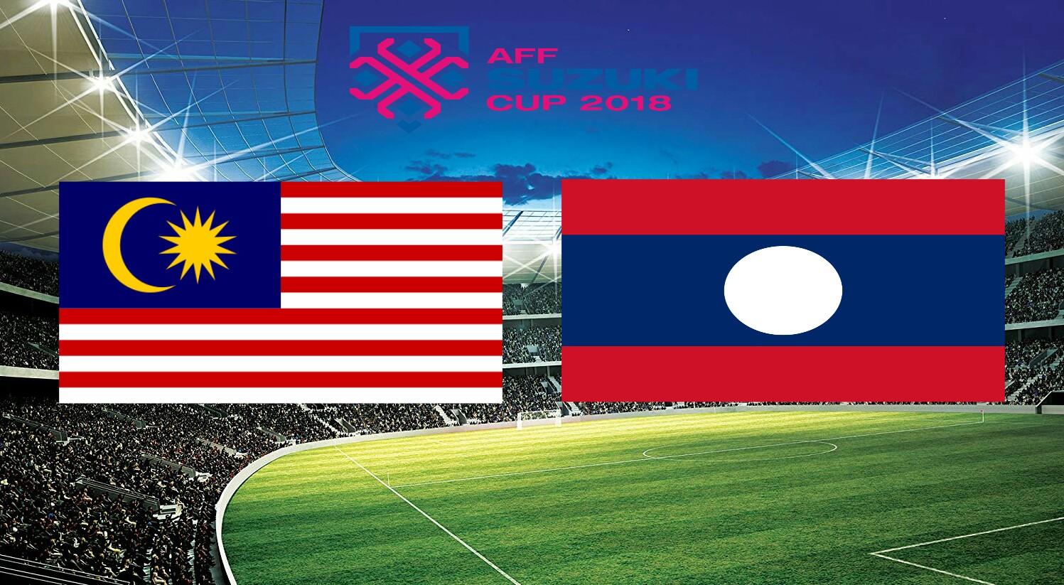 Siaran Langsung Malaysia vs Laos 12.11.2018 AFF Suzuki Cup