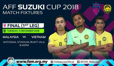 Live Streaming Malaysia vs Vietnam 11.12.2018 Final Piala Suzuki AFF