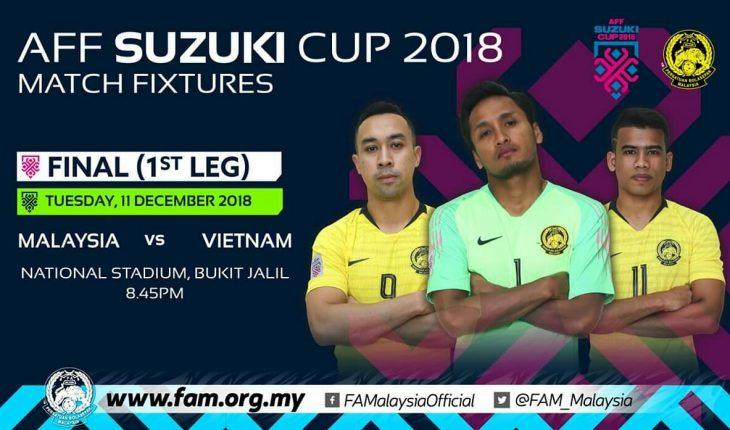 Live Streaming Malaysia vs Vietnam 11.12.2018 Final Piala Suzuki AFF