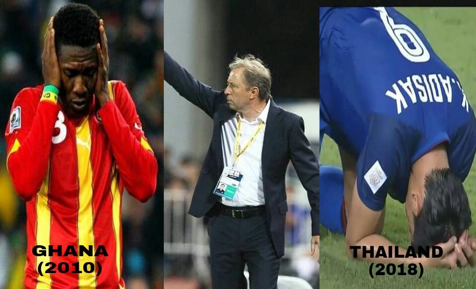Sumpahan Penalti Milovan Rajevac Ketika Ghana, Skrip Berulang Dengan Thailand Piala AFF Suzuki 2018