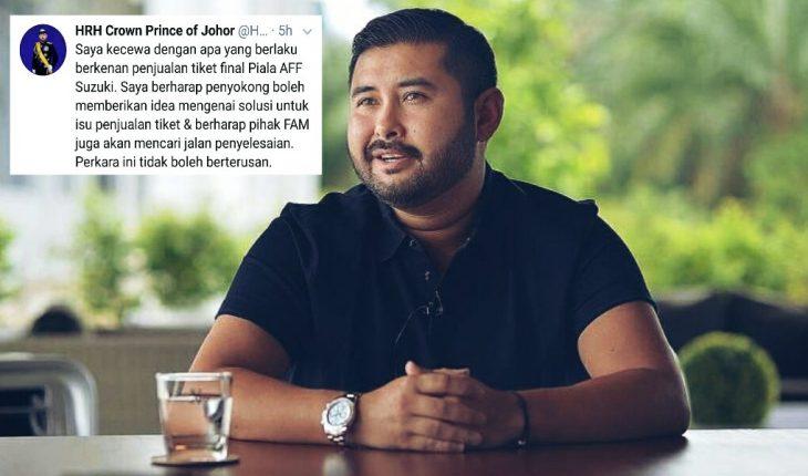 TMJ Luahkan Kekecewaan Isu Penjualan Tiket Final Piala AFF, Minta Penyokong Kongsi Idea!