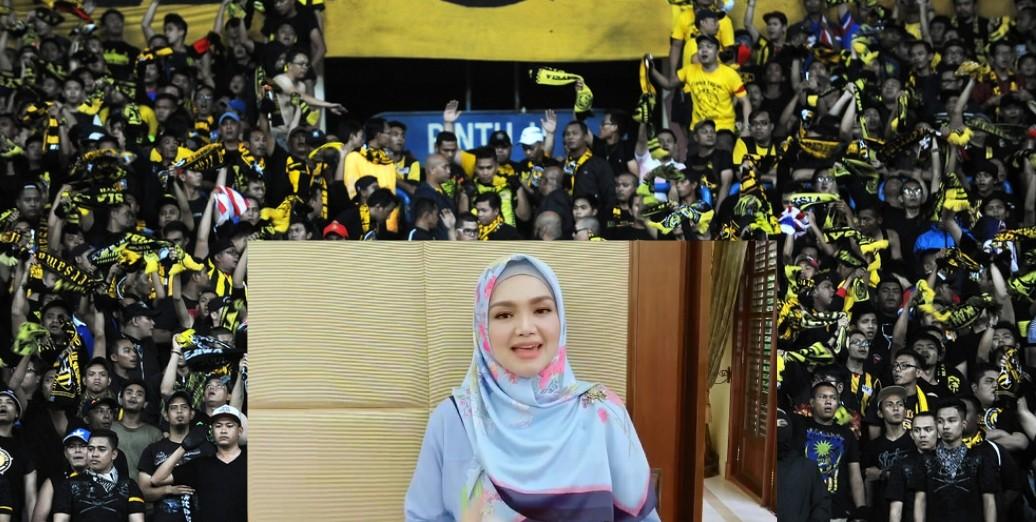 Siti Nurhaliza Nyanyi Lagu 'Chant' Ultras Malaya Untuk Skuad Malaysia