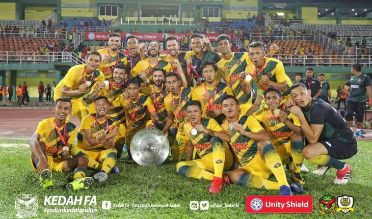 Pasukan Kedah Muncul Juara Edisi Sulung Unity Shield, Perak Terpaksa Akur