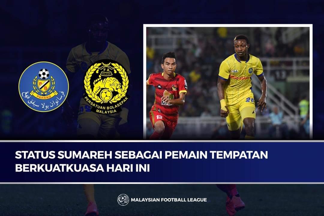 MFL Luluskan Mahamadou Sumareh Kini Pemain Tempatan