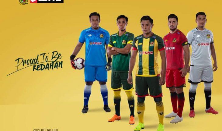 Kedah FA Lancarkan Jersi Musim 2019, Jersi Home Persis Retro!