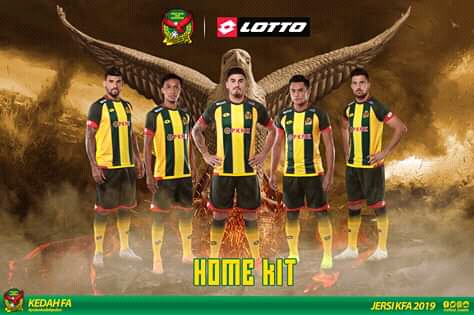 Kedah FA Lancarkan Jersi Musim 2019, Kit 'Home' Persis Retro!