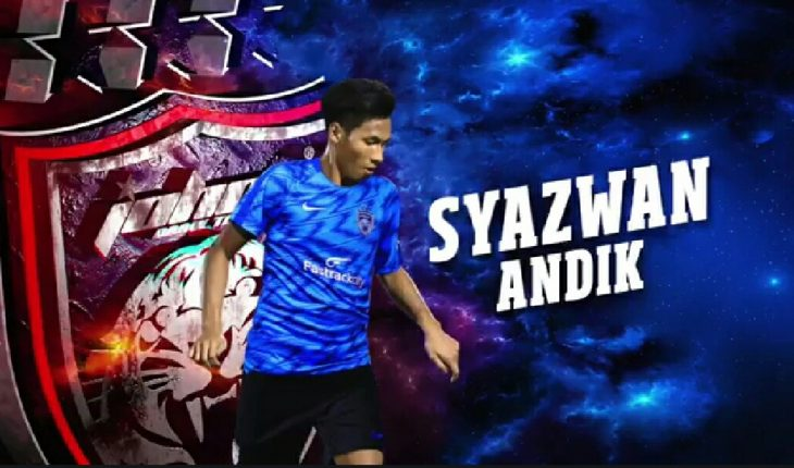 Syazwan Andik Kini Sah Jadi Milik Johor Darul Ta'zim