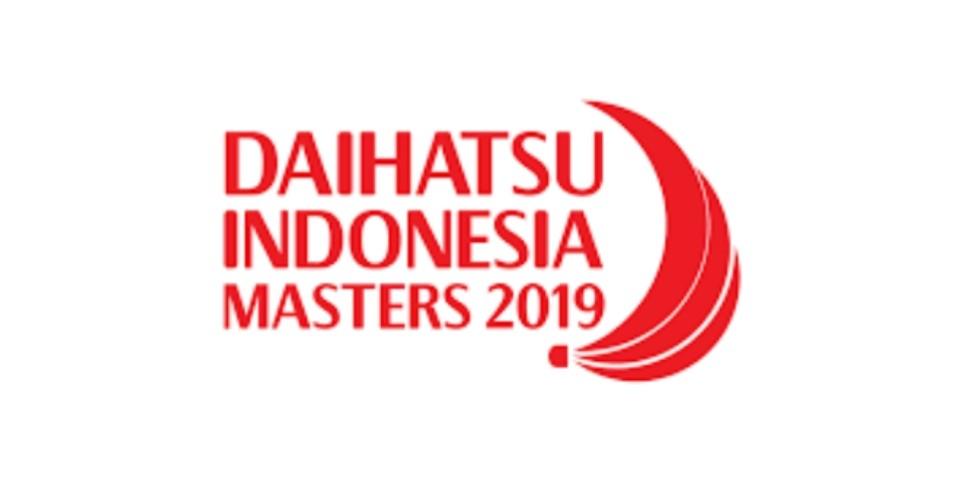 Jadual Badminton Indonesia Masters 2019