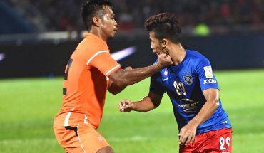 Johor Darul Ta'zim vs Felda United