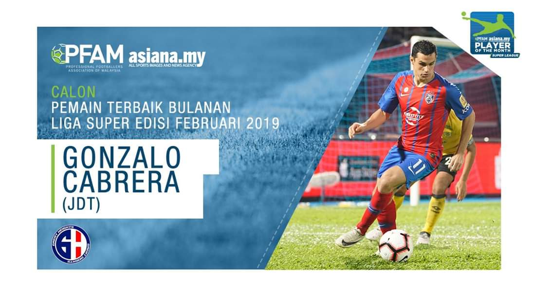 Undian Pemain Terbaik Bulanan Liga Super Februari 2019