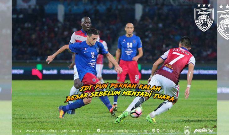 JDT pun KALAH BESAR lawan Kelantan