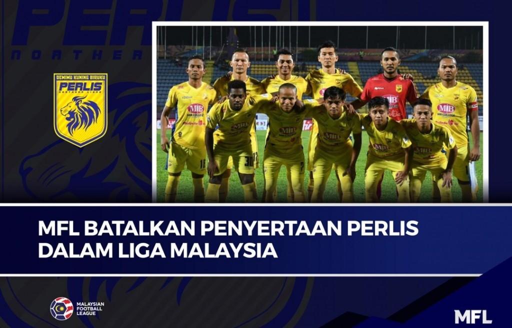 MFL Singkirkan Perlis Dalam Liga Malaysia Berkuatkuasa Hari Ini