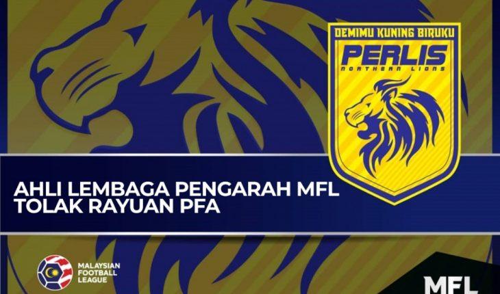 Tiada Dana Dalam Akaun, Rayuan Perlis Ditolak MFL!