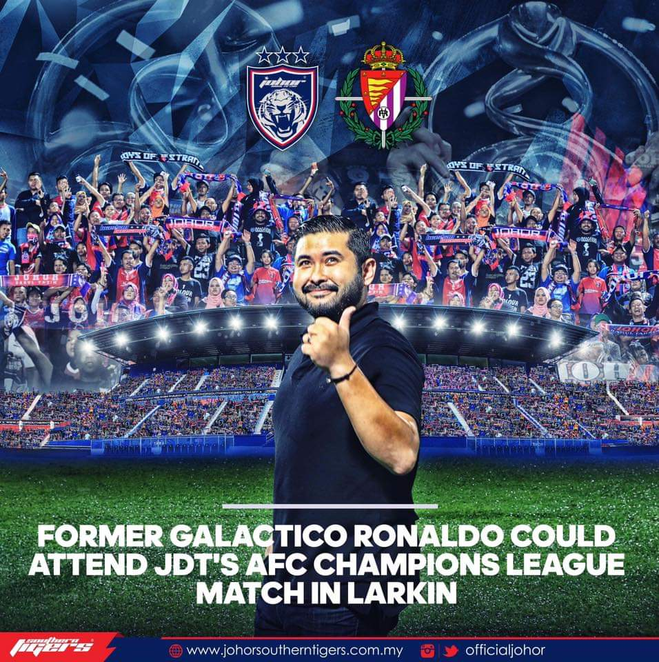 Ronaldo Bakal Turun ke Larkin, Tonton Perlawanan ACL 2019 & Kerjasama Dengan JDT!
