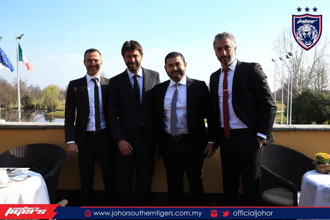 JDT dan Juventus Setuju Bekerjasama, Maju Lagi Selangkah ke Hadapan!