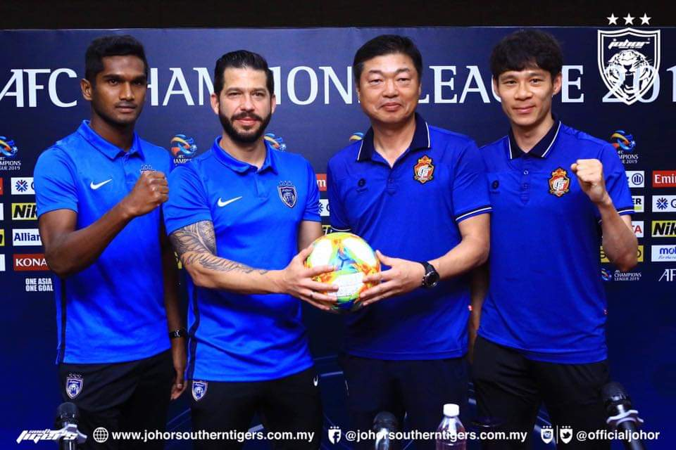 Gyeongnam FC Optimis Jinakkan JDT di Larkin