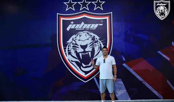 Lagenda Brazil Ronaldo Tiba di Johor, Lihat Infrastruktur dan Saksikan Perlawanan JDT ACL 2019
