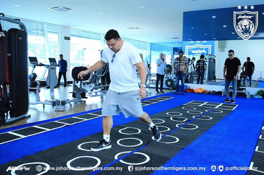 Lagenda Brazil Ronaldo Kagum Dengan Bolasepak JDT, Ingin Datang Kembali ke Larkin!