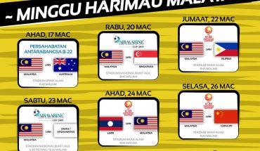 FAM Guna Kod QR Pada Tiket Untuk Enam Perlawanan Antarabangsa