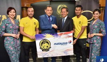 Malaysia Airlines Kini Sah Penerbangan Rasmi Harimau Malaya, Perjanjian Selama 2 Tahun!