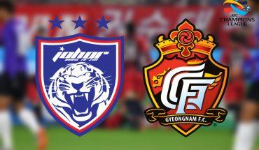 JDT Bakal Bertemu Gyeongnam FC 12 Mac, Misi 3 Mata di Larkin!