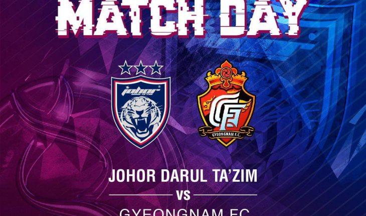 Fakta Menarik Tentang Perlawanan JDT Menentang Gyeongnam FC