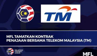 MFL Tamatkan Kontrak Tajaan TM, Gagal Jelaskan Bayaran Hak Penyiaran!