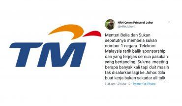 TMJ Menegur Syed Saddiq Isu Penamatan Kontrak TM, Mengapa Menteri Membisu?