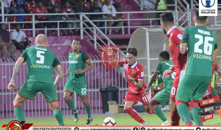 Piala FA: Red Giants Benam Kelantan di Kota Bharu, Faiz Nasir Cetak Dua Gol
