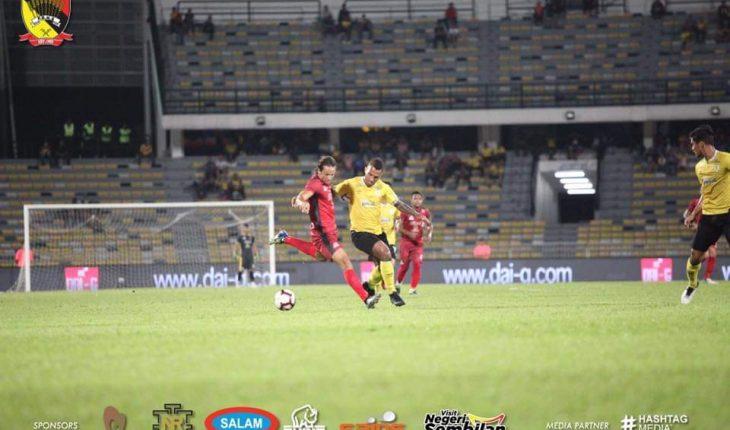 Piala FA: Perak Mengecewakan Negeri Sembilan Dengan Jaringan 2-1