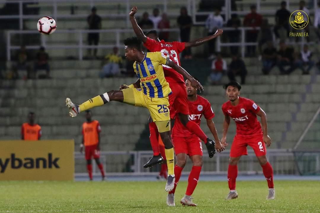 Pahang Sekadar Seri Jumpa PJ City FC, JDT Pintas Kedudukan Pertama