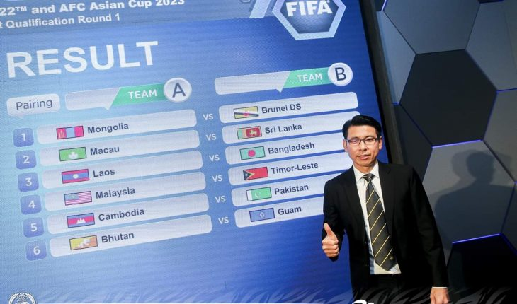 Malaysia Jumpa Timor Leste Dalam Kelayakan Piala Dunia 2022