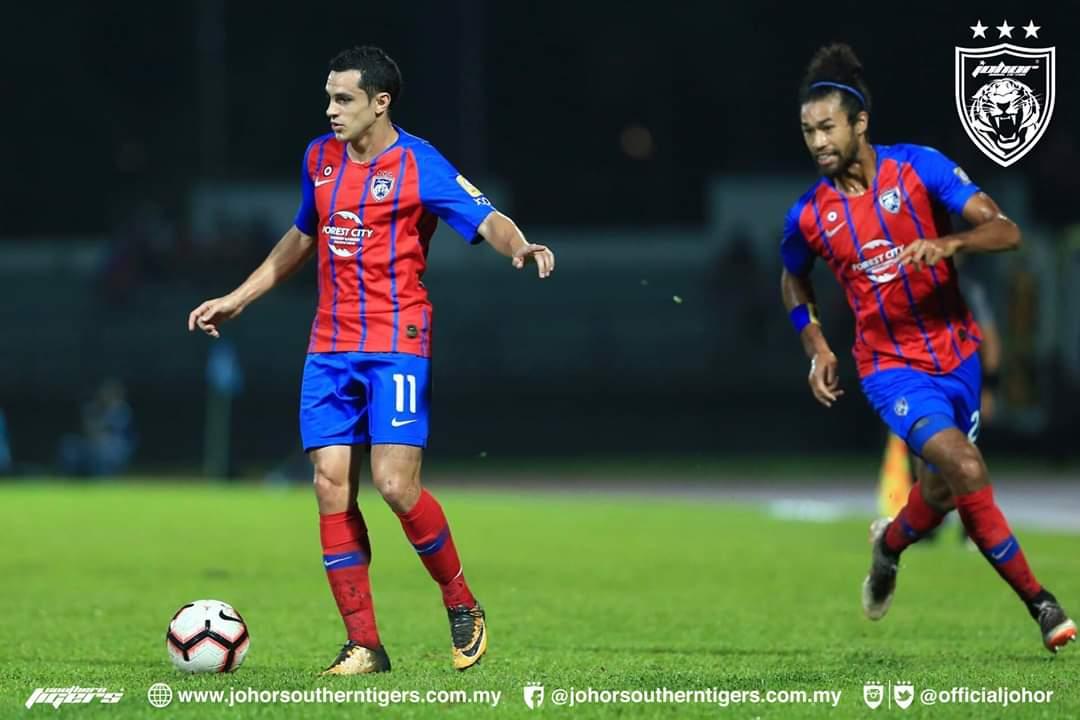 JDT Muncul Pasukan Paling Bernilai Dalam Liga Malaysia