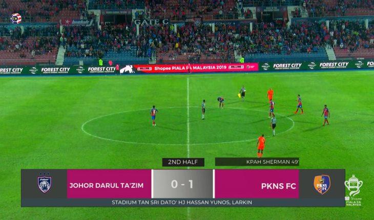 Gol Tunggal Kpah Sherman, PKNS FC Singkirkan Harimau Selatan di Larkin