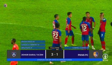 JDT Berjaya 'Membalas Dendam', Tumpaskan PKNS FC di Larkin