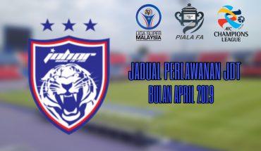 Jadual Padat Bulan April Buat Johor Darul Ta'zim
