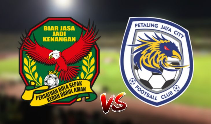 Live Streaming Kedah vs PJ City FC 16.4.2019 Piala FA